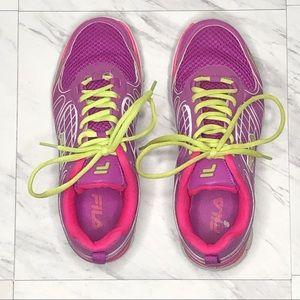 Fila Pink Cross Trainer Sneaker
